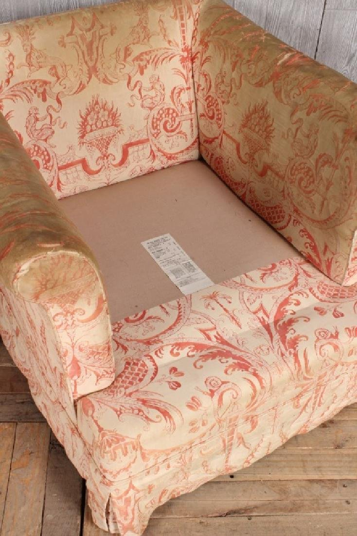 Pair Fortuny Clad Armchairs - 2