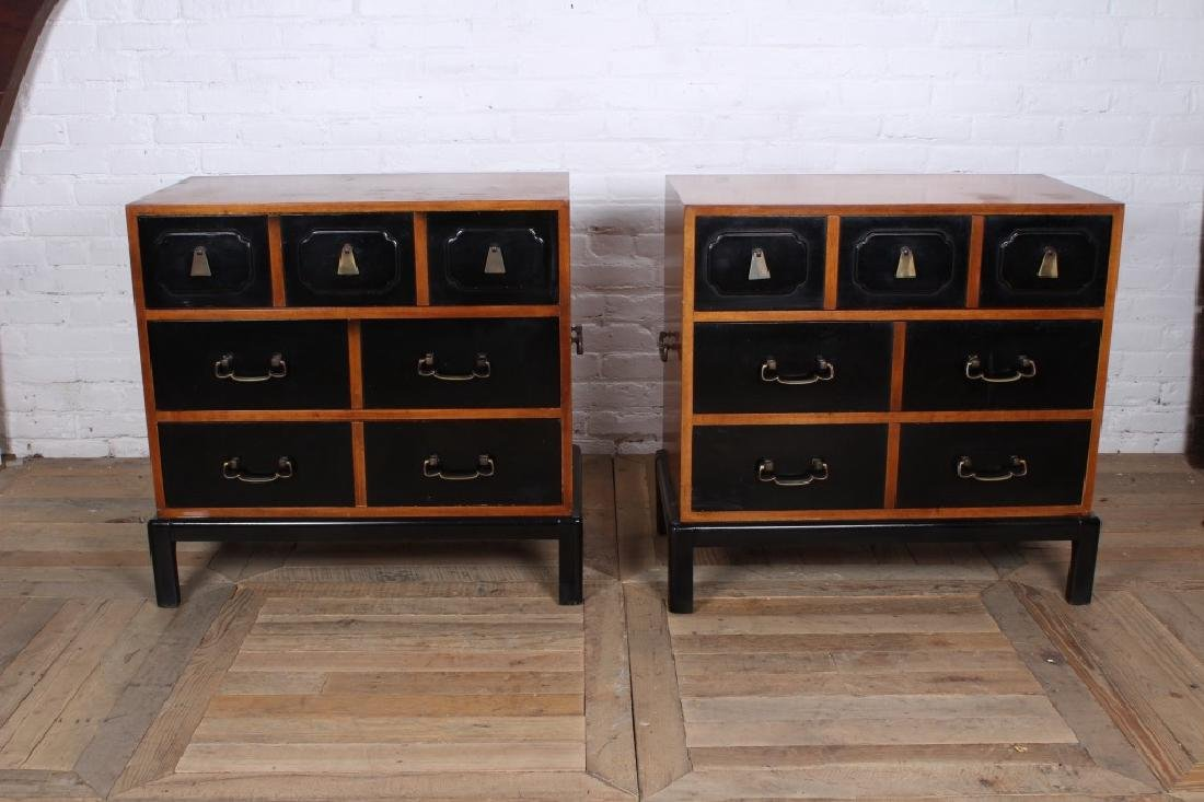 Pair Grosfeld House Style Bachelors Chests - 2