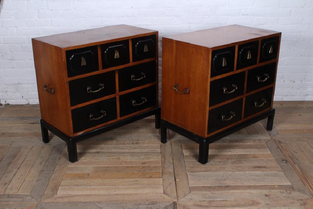 Pair Grosfeld House Style Bachelors Chests - 3