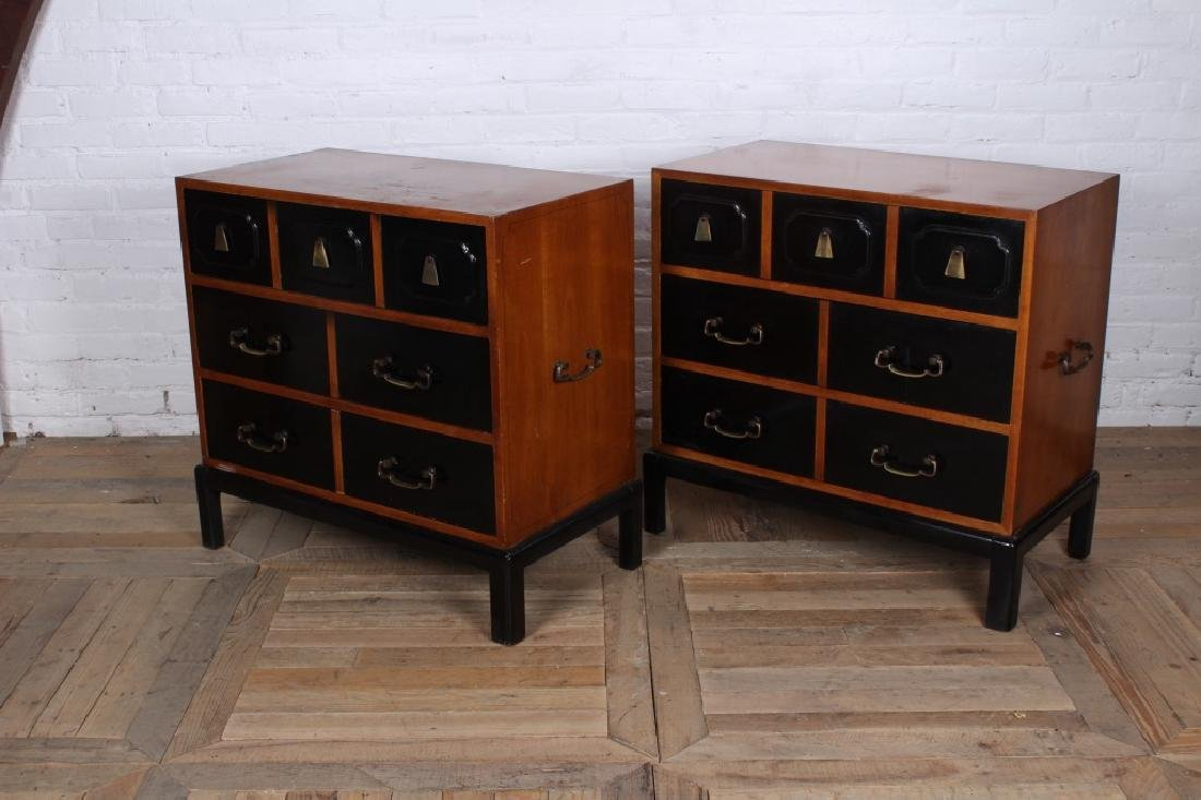 Pair Grosfeld House Style Bachelors Chests - 4