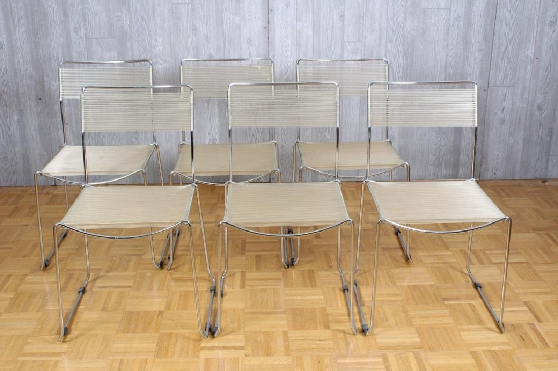 Set of 6 Till Behrens dining chairs