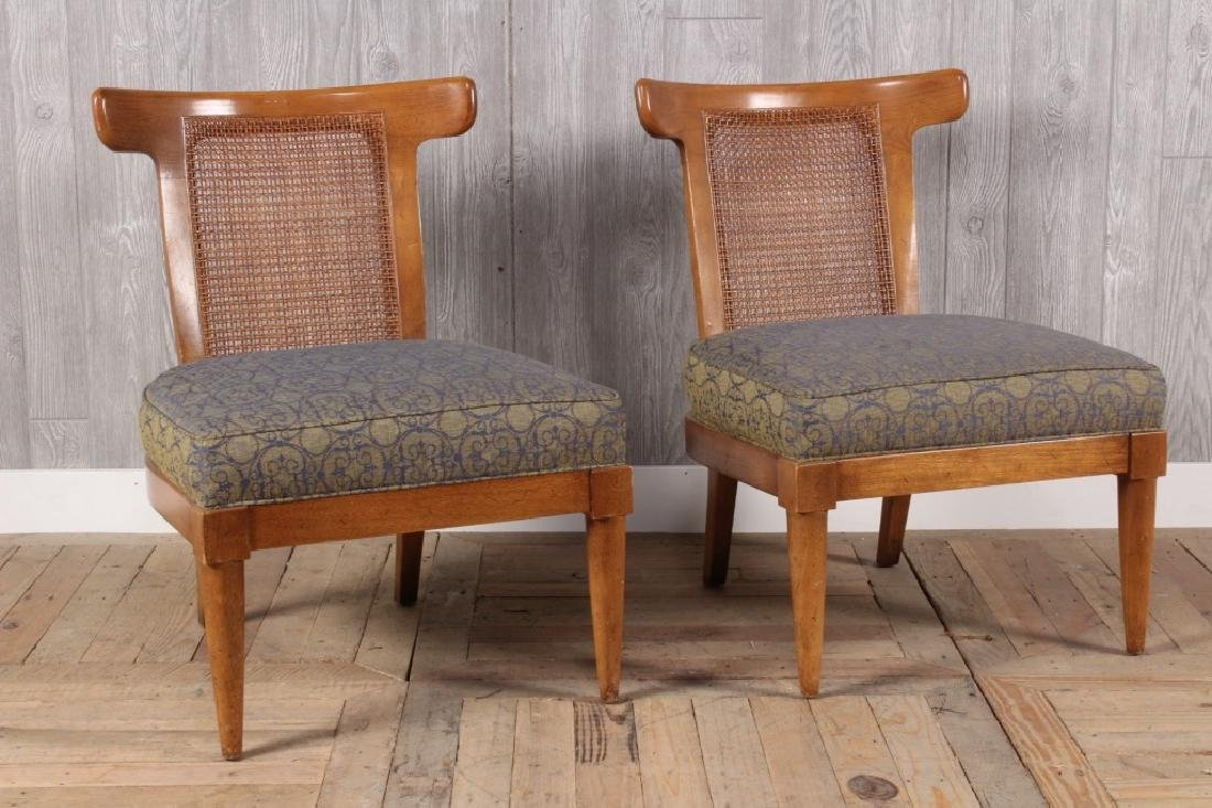 Pair Mid Century Modern Klismo Chairs