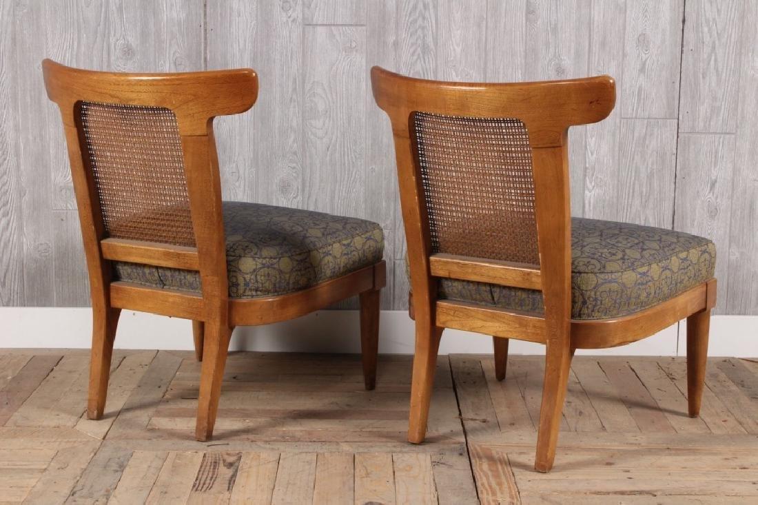 Pair Mid Century Modern Klismo Chairs - 3