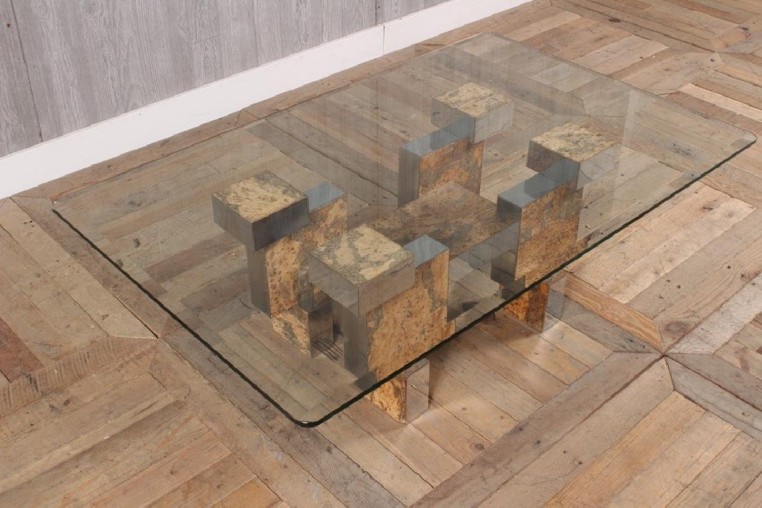 Paul Evans Style Coffee Table - 3