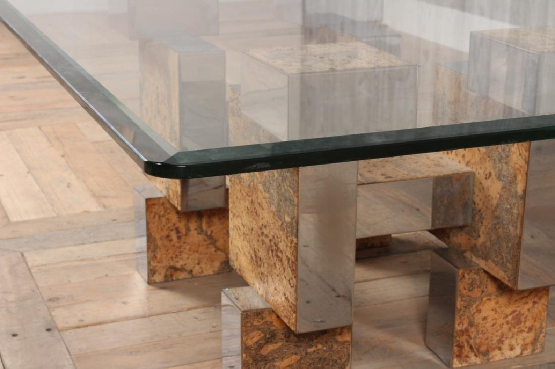 Paul Evans Style Coffee Table - 5