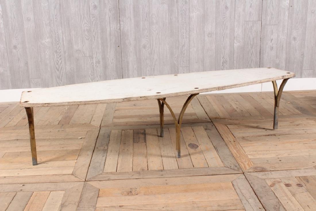 Mid Century Modern Surfboard Form Table