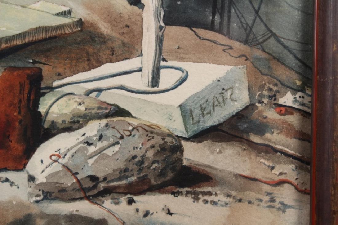 John B Lear (20th C, Pennsylvania) Watercolor - 2