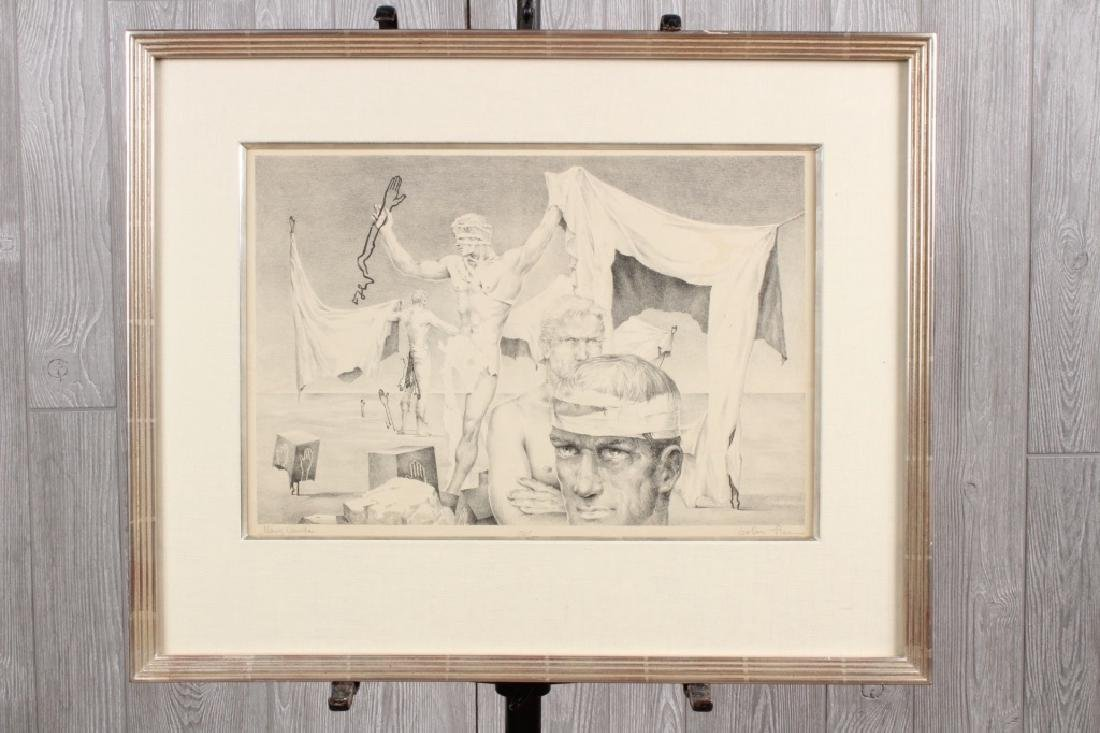 John B Lear (20th C, Pennsylvania) Lithograph