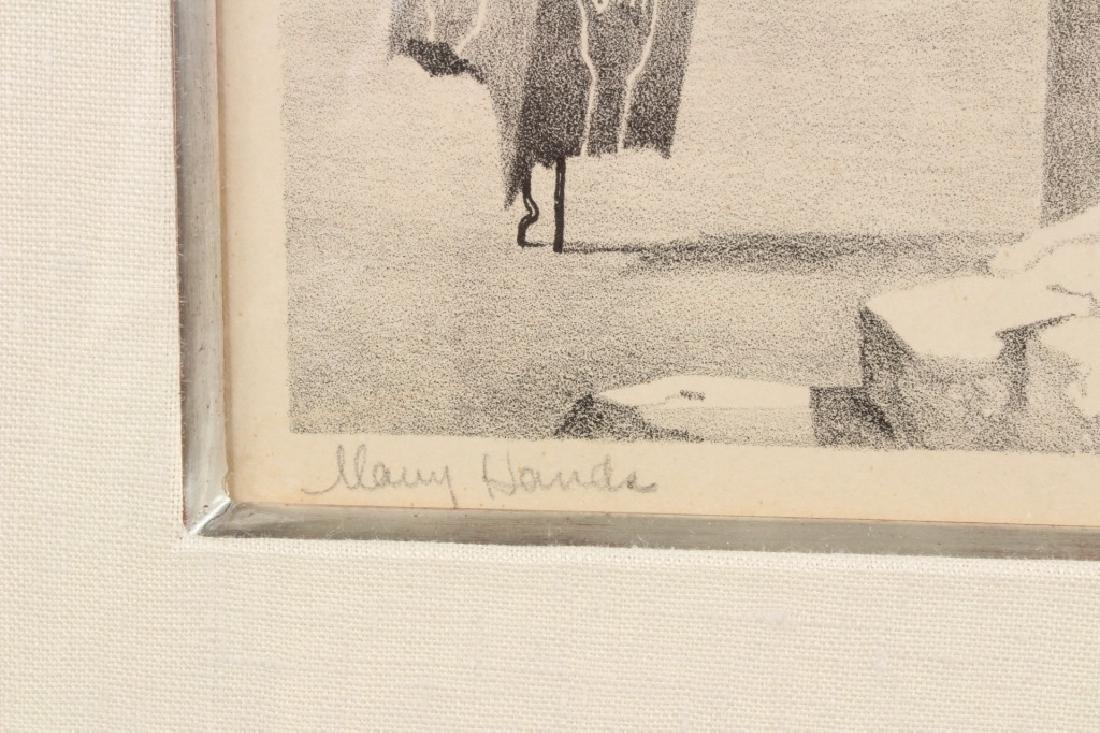John B Lear (20th C, Pennsylvania) Lithograph - 3