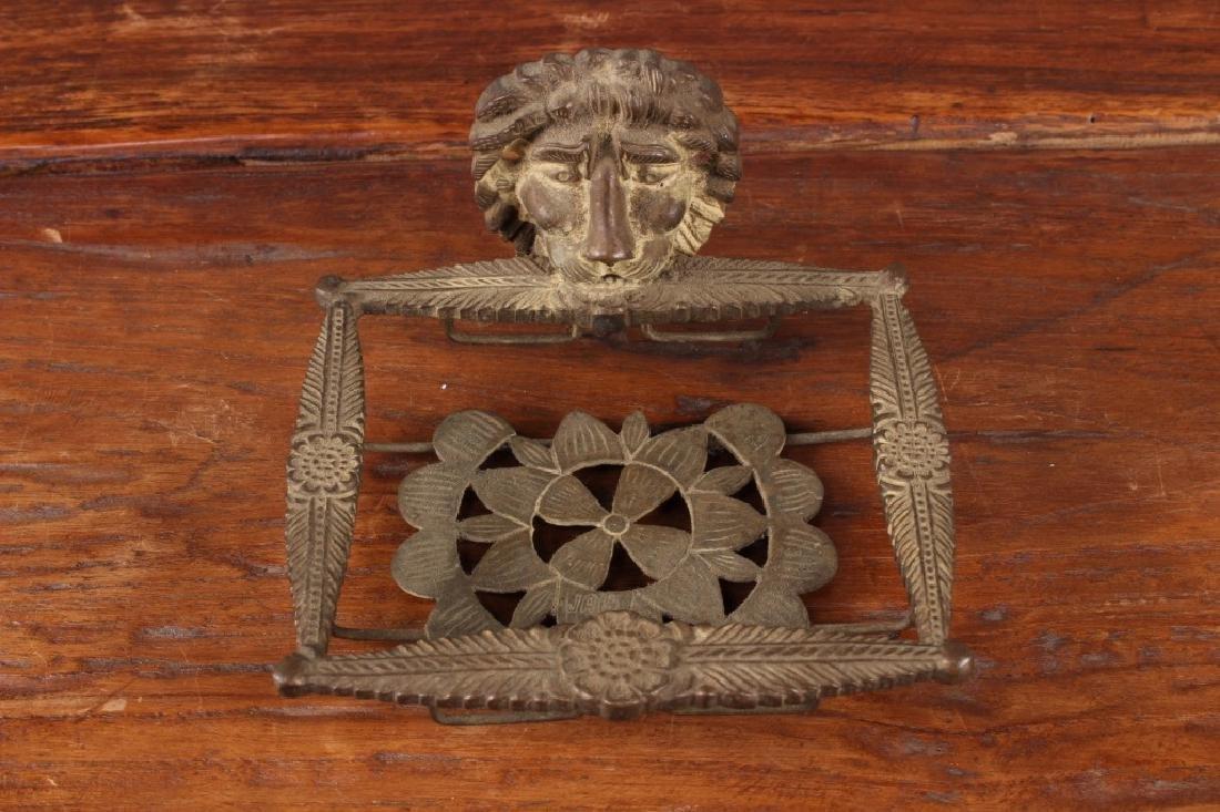 Bronze Lion Soap Dish - 2