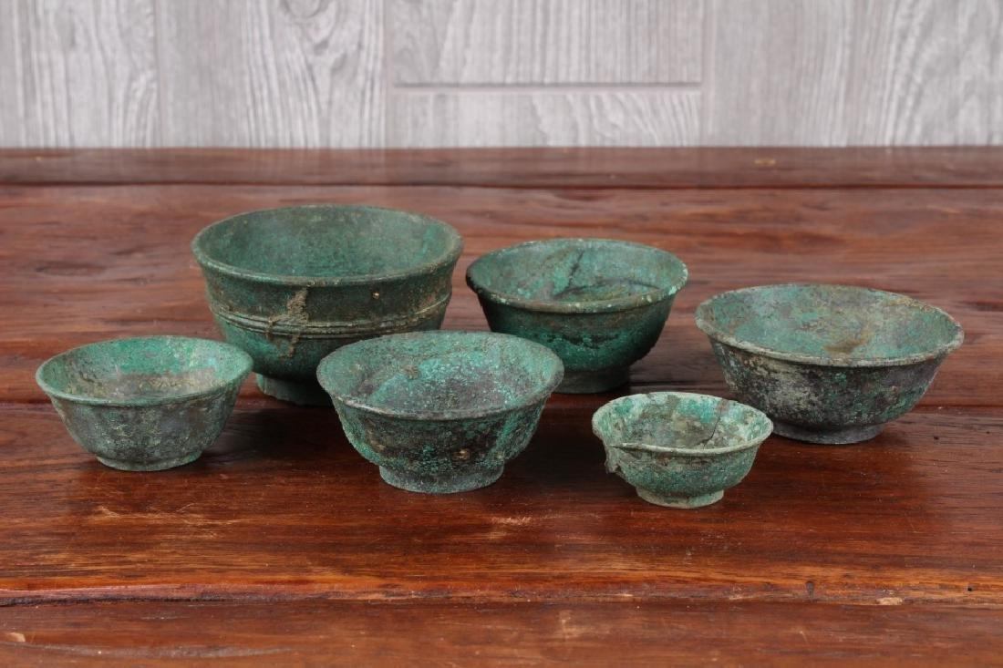 Roman Style Bronze Cups