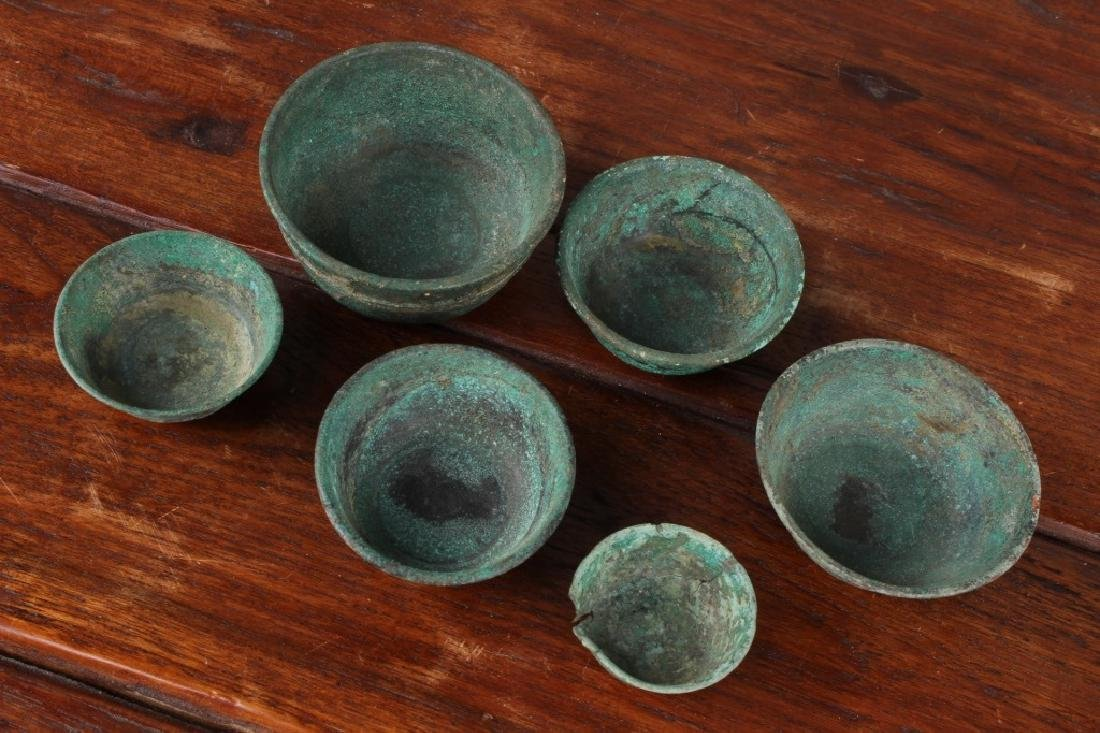 Roman Style Bronze Cups - 2