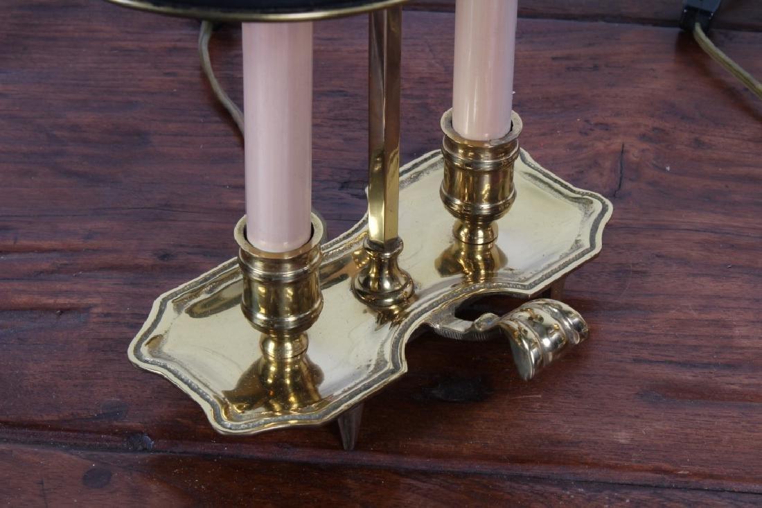 Pair of Brass Boulliotte Lamps - 4
