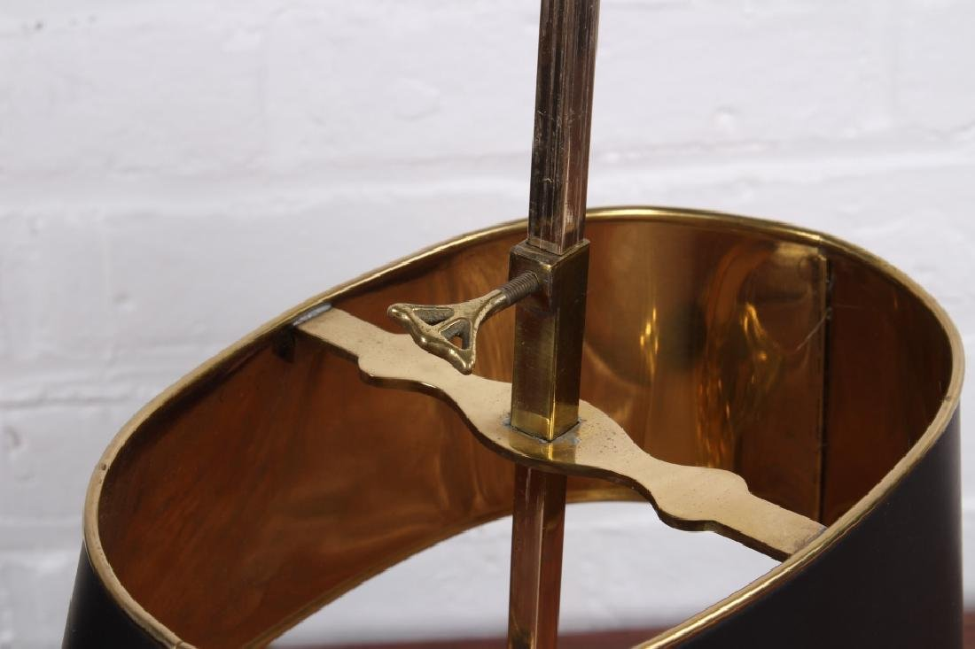 Pair of Brass Boulliotte Lamps - 5