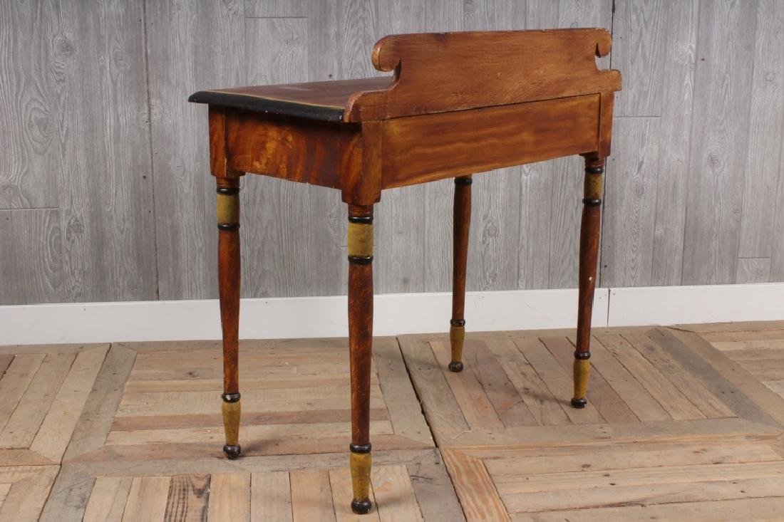 19th C American Paint Decorated Wash Stand - 3