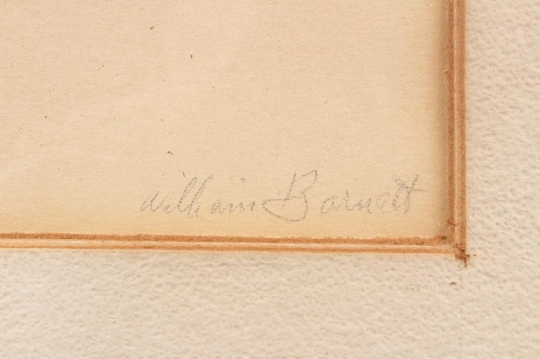 William Barnett (American, 20th C) Portrait Study - 2