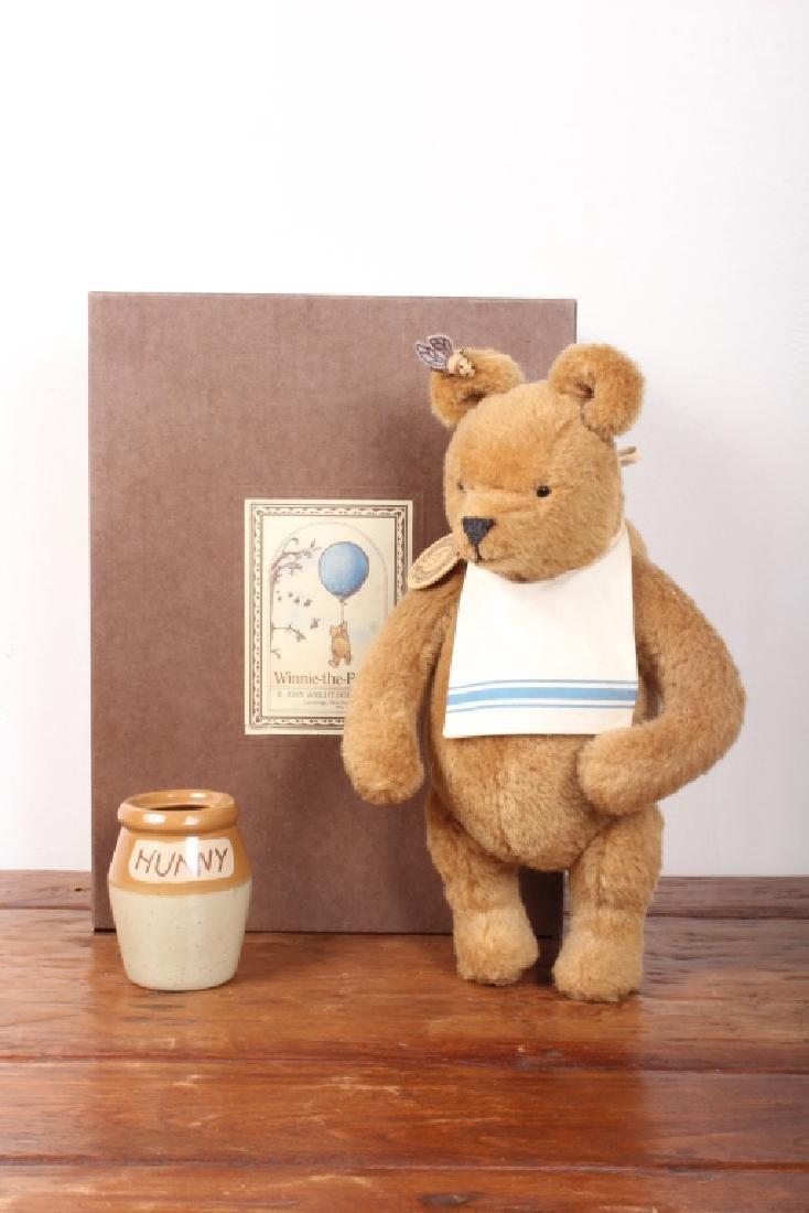 Winnie-the-Pooh Stuffed Doll by R. John Wright