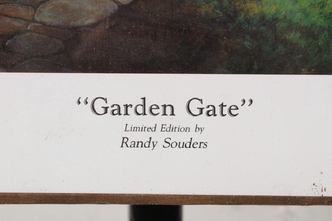 Garden Gate by Randy Souders Signed Print - 2