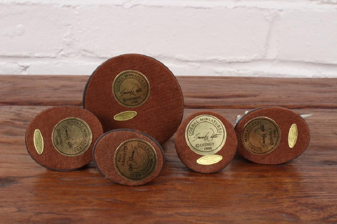 5 Piece Set of Goebel Miniatures - 2