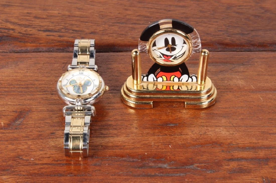 Miniature Mickey Mouse Clock,
