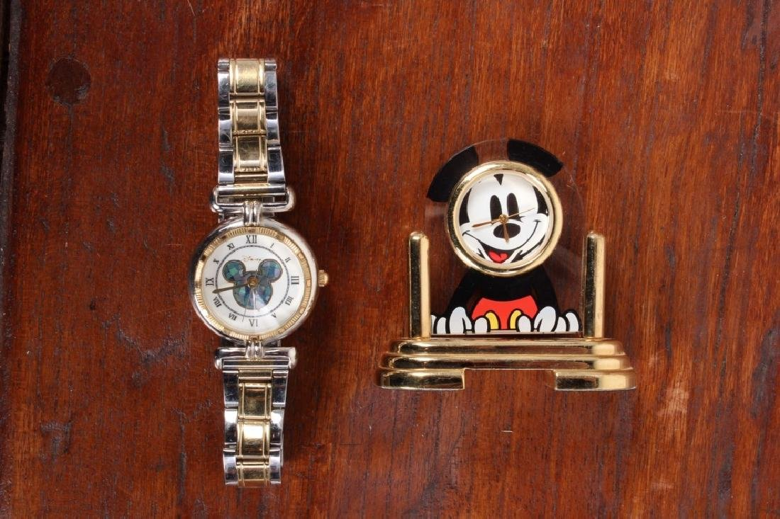 Miniature Mickey Mouse Clock, - 2