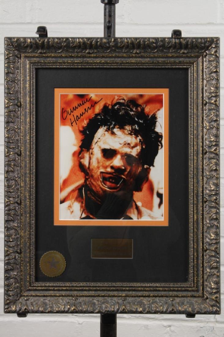 Signed Glossy Still from Texas Chainsaw Massacre
