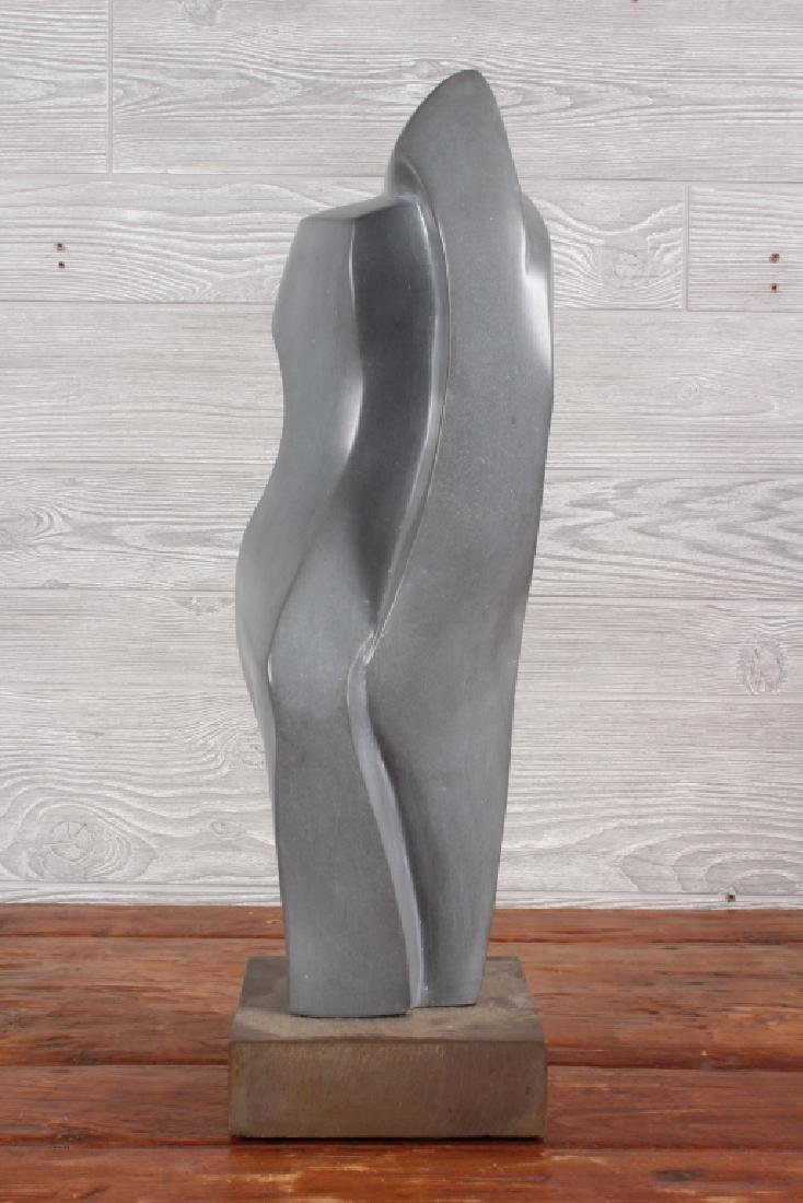 Modernist Polished Soapstone Sculpture