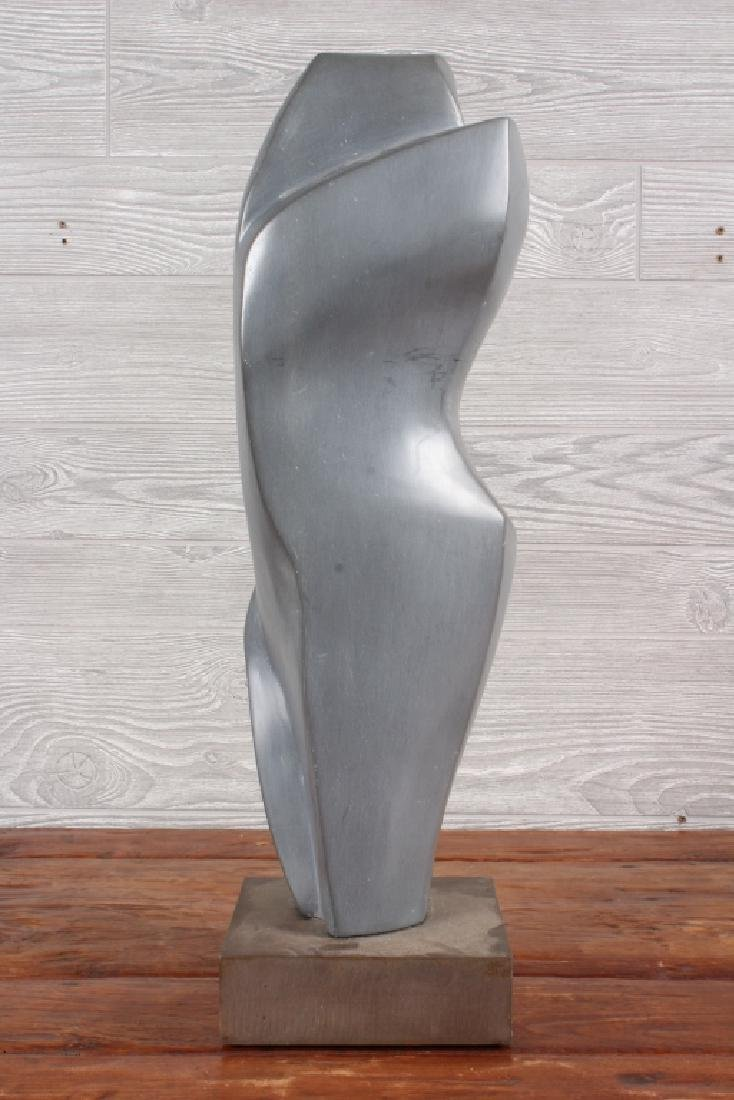 Modernist Polished Soapstone Sculpture - 2