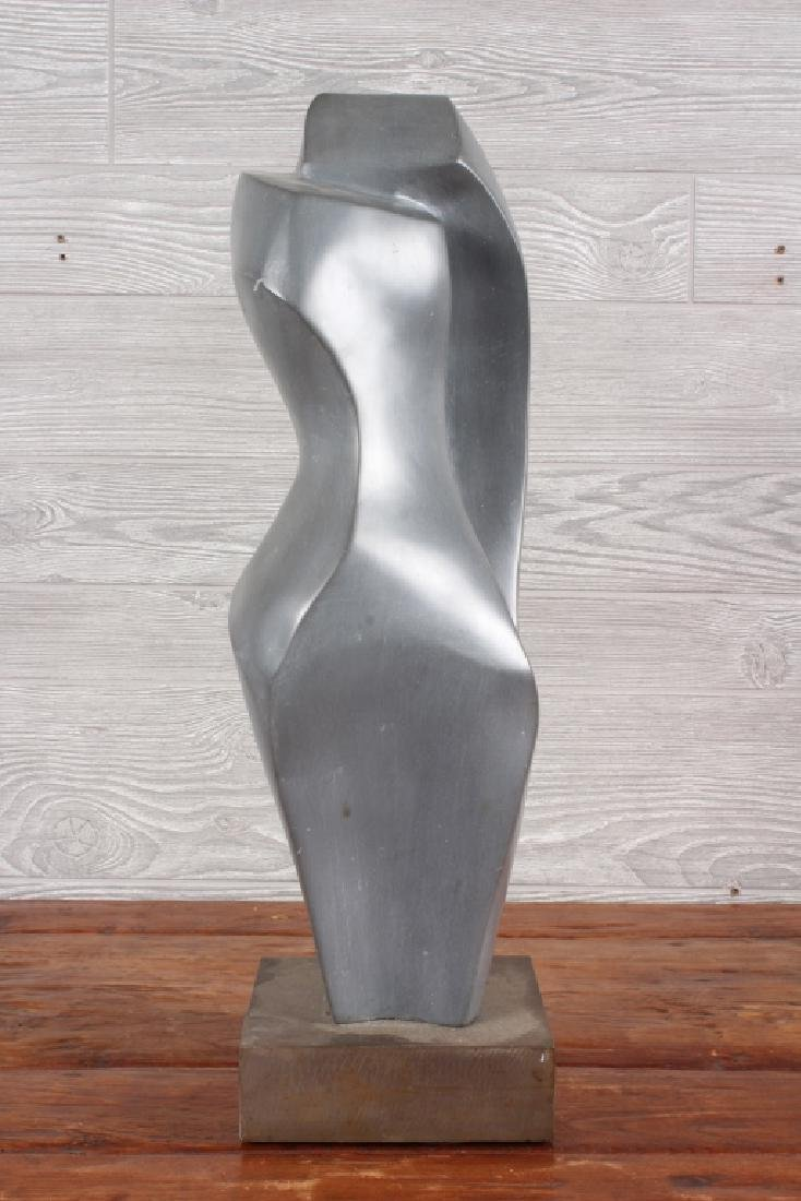 Modernist Polished Soapstone Sculpture - 4
