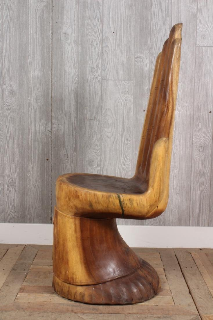 Pedro Friedeberg Style Figural Hand Chair - 5