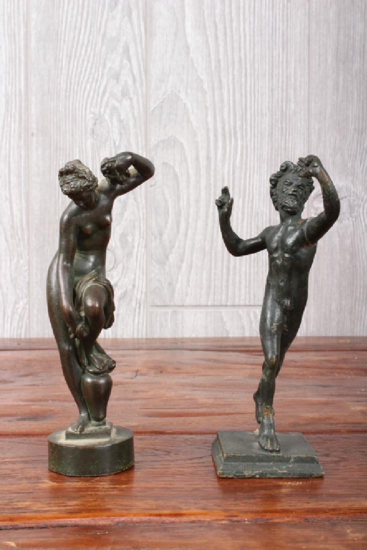 2 Grand Tour Style Bronzes