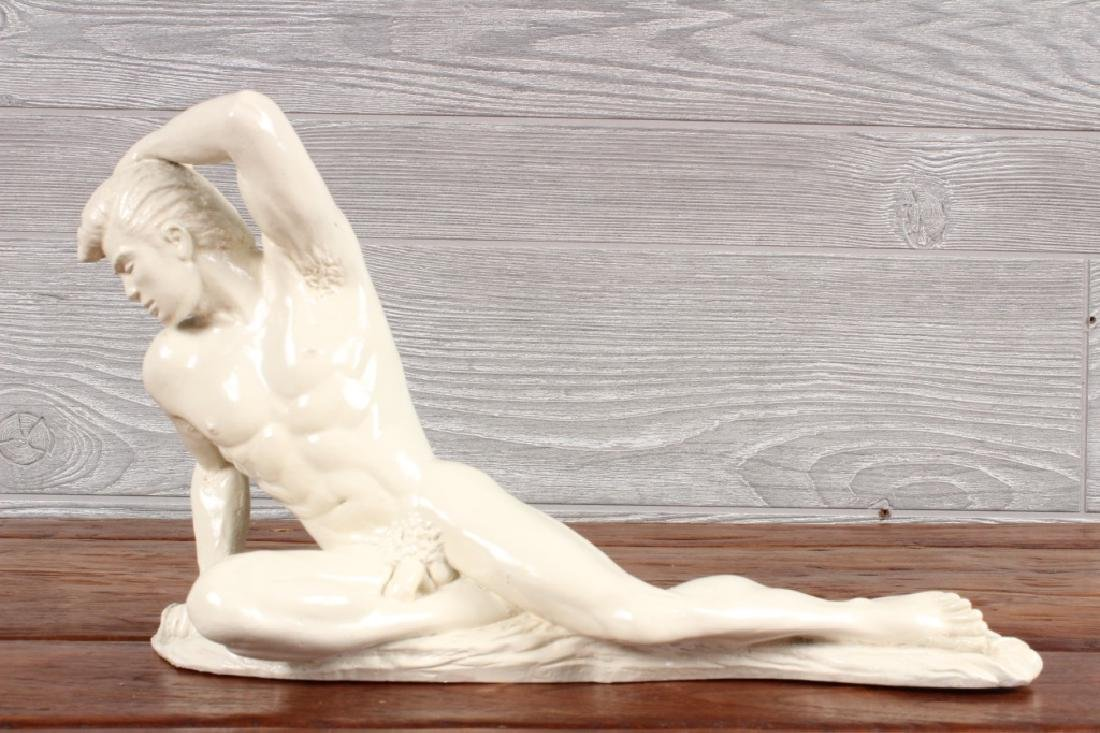 Ceramic Figural Male Nude