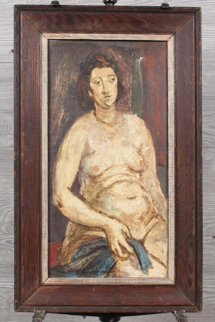 Jere H Friedman Female Nude Painting