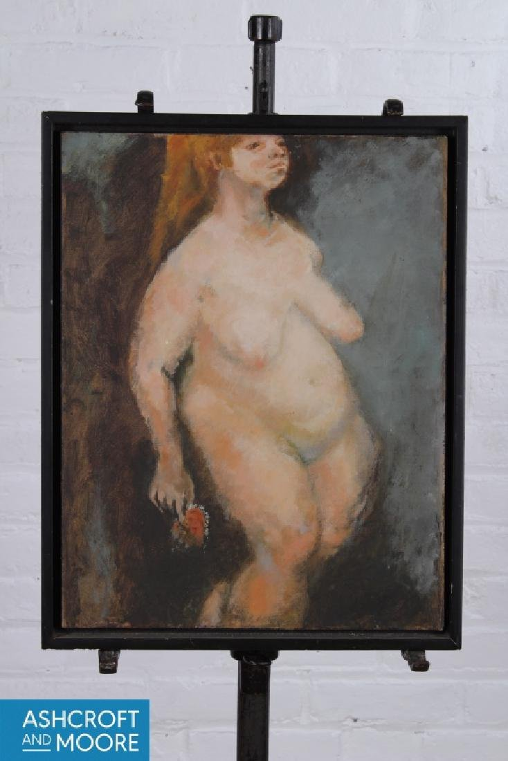 Jack Levine (American, 1915-2010) Corpulent Nude