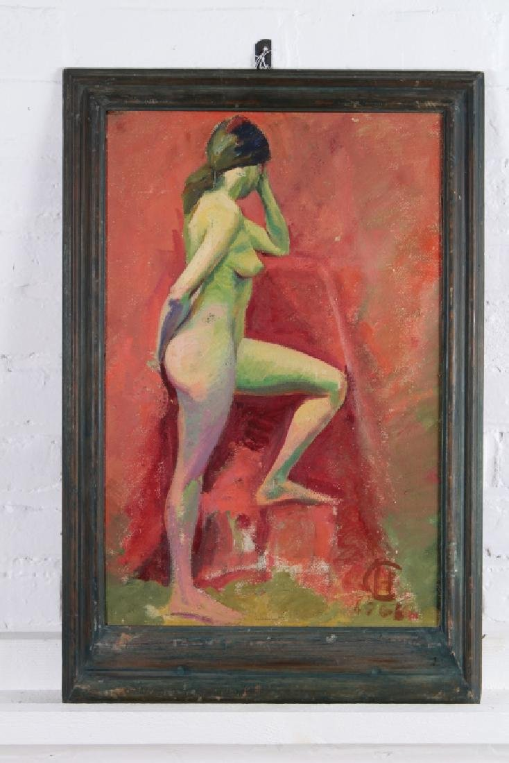 L'Harl Copeland Nude Painting