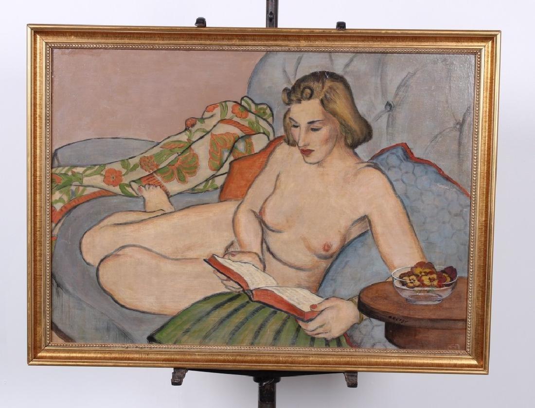 Stephens Berge (b. 1908) Nude Painting
