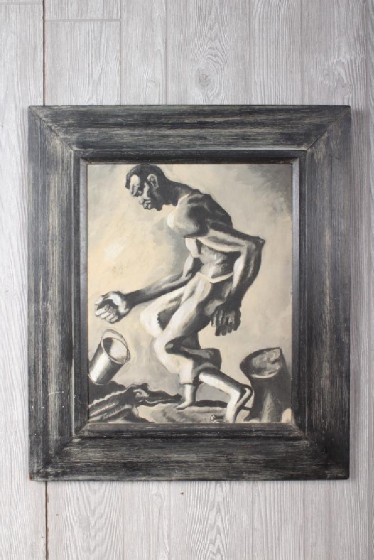 Samuel Joseph Brown Style Painting