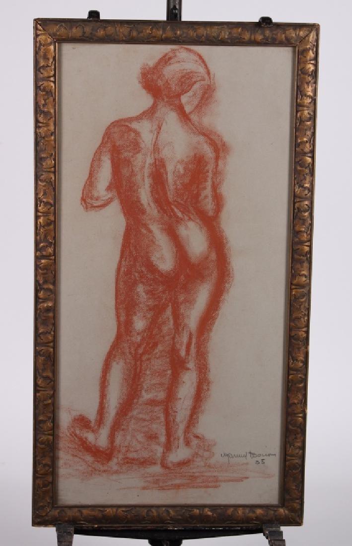 Manuel Boccini Figural Nude Study