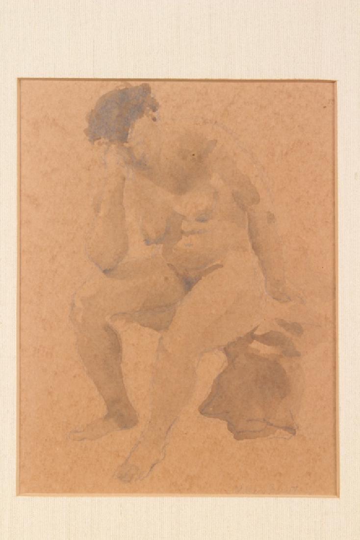 William Barnett (American, 20th C) Nude Studies - 2