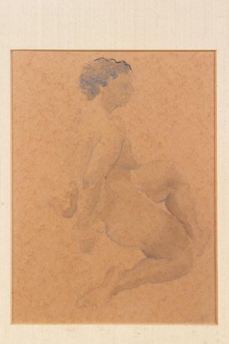 William Barnett (American, 20th C) Nude Studies - 4