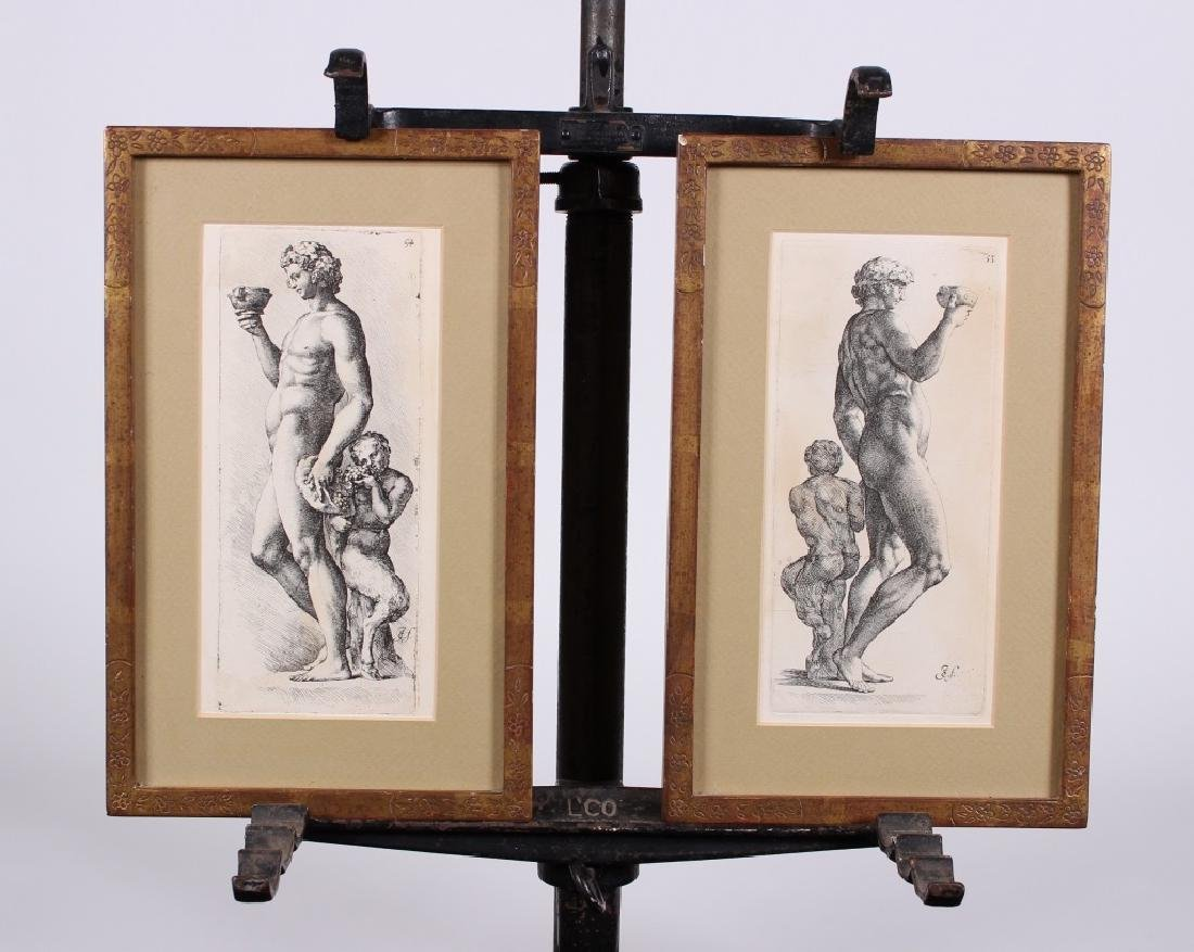 Antique Engravings in the Manner of John Faber