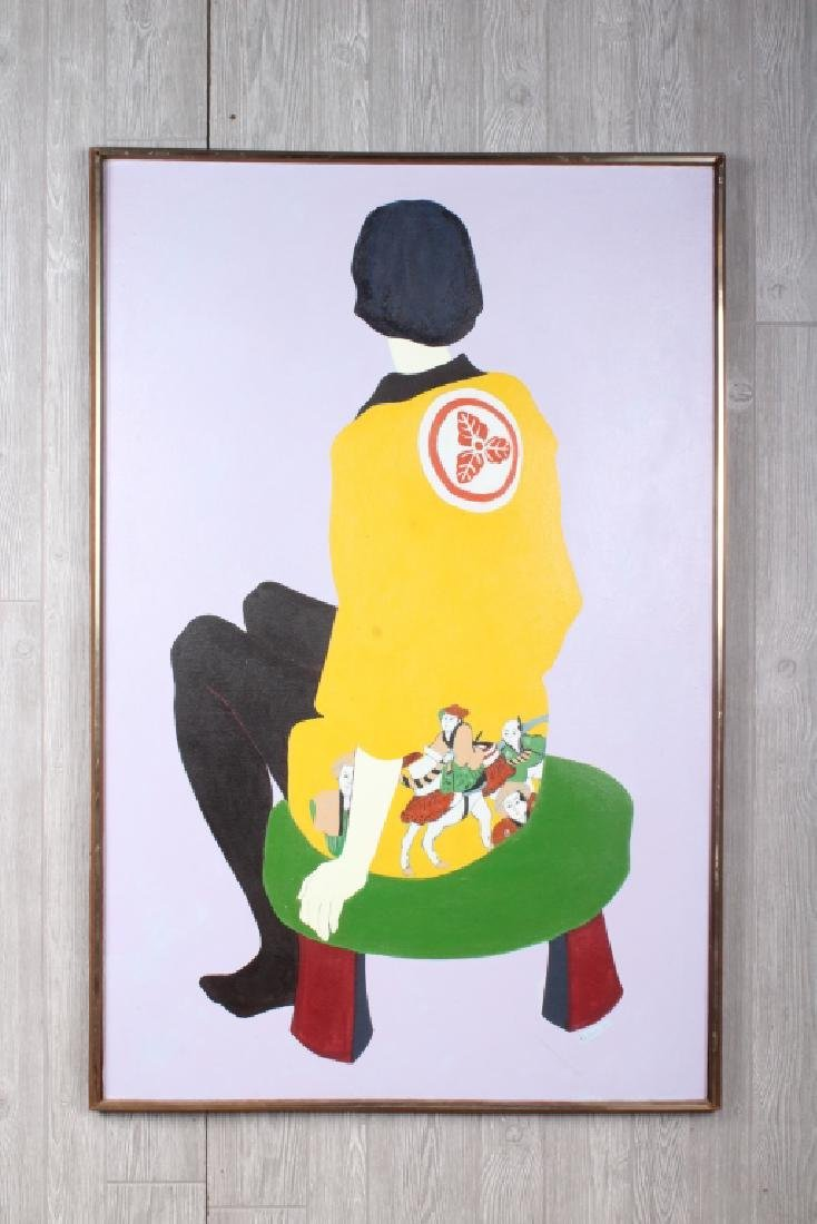 1966 Signed Pickus- Painting