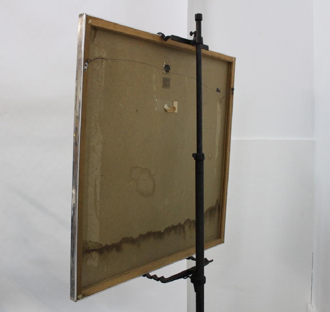 Sharon Art Concept Midcentury OP Art Mirror - 5