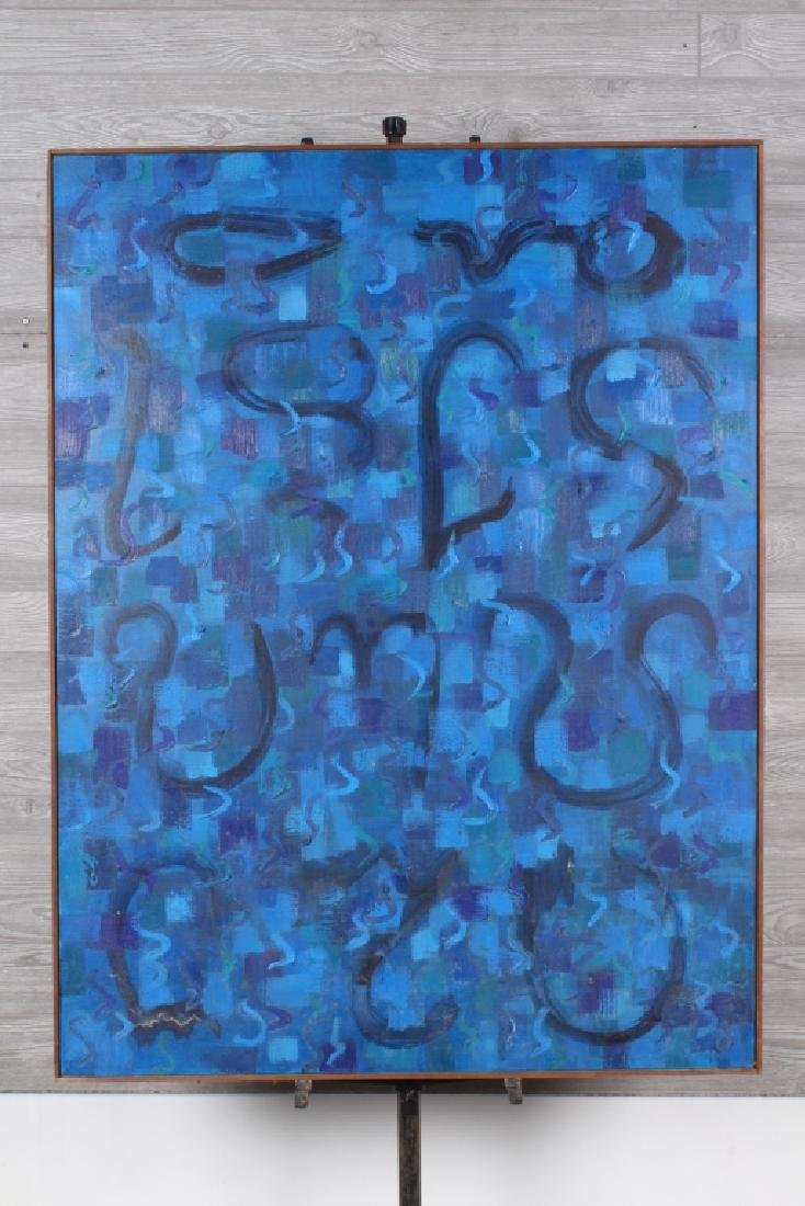 Emily Hixon Abstract Modernist Painting