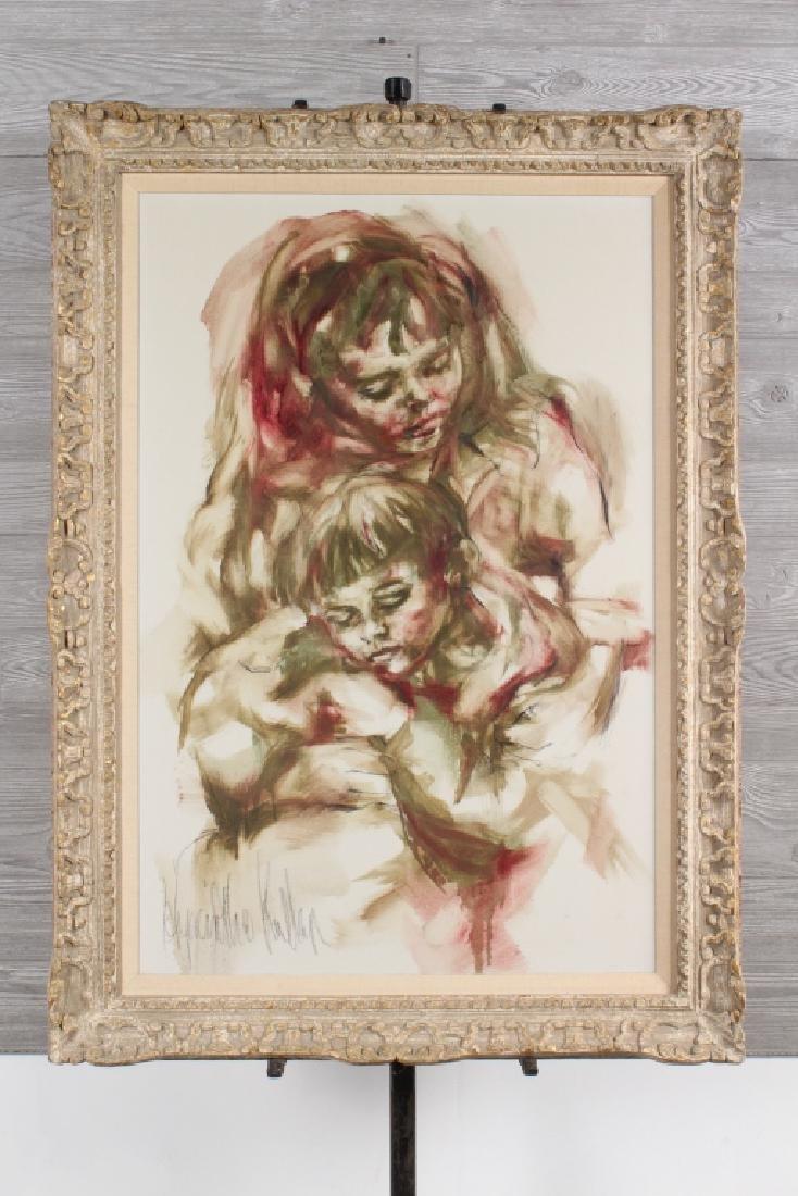 Hyacinthe Kuller Baron Mother and Child