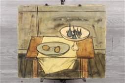 Charles Levier Mid Century Still Life Painting