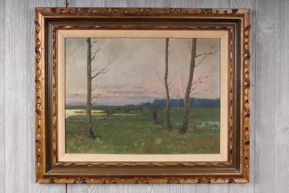 Russian Ukrainian Pastoral Landscape Painting