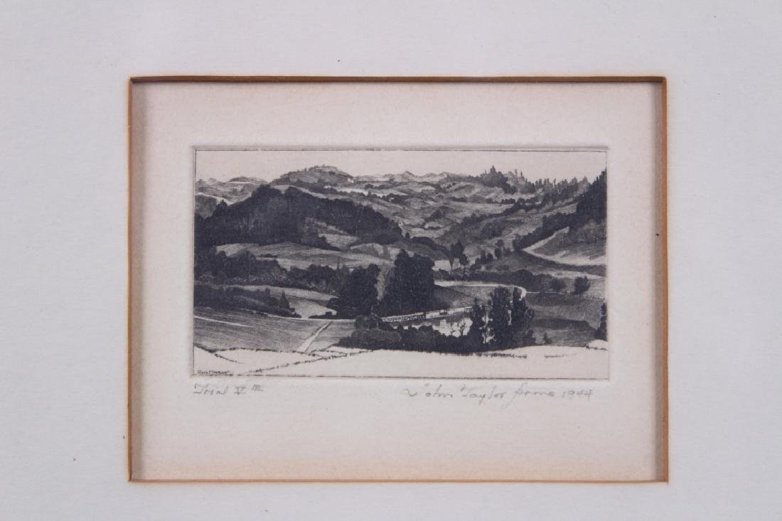John Taylor Frome Etching