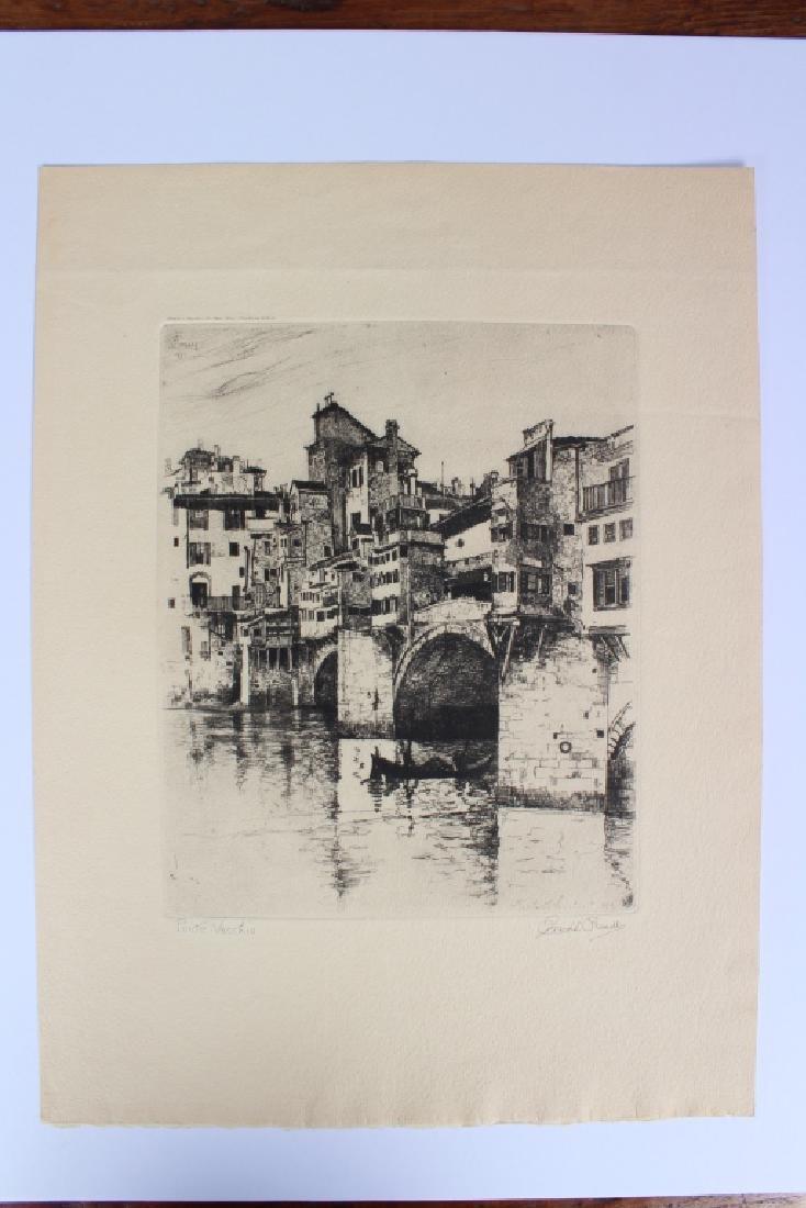 Joseph Pennell Talio Crome Print