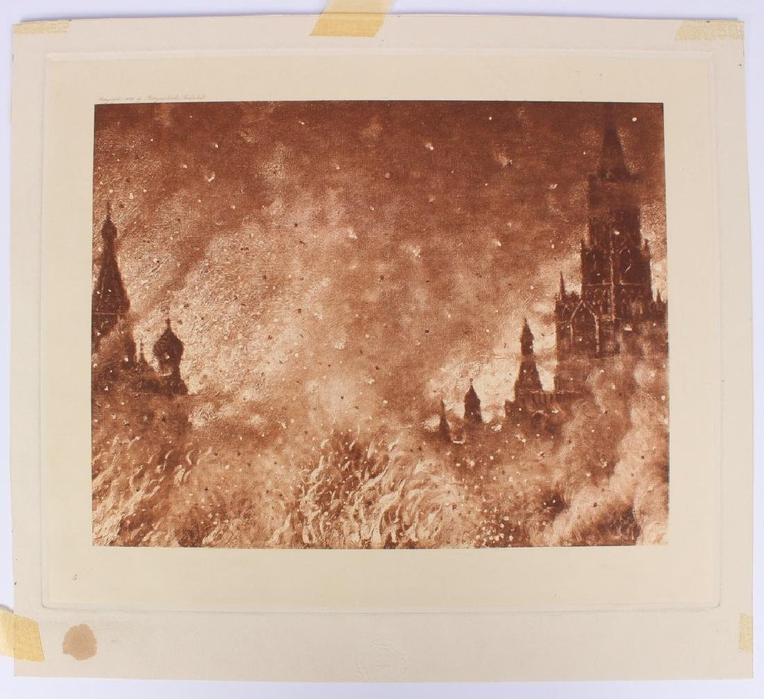 Fire and Flame Berlin Photographische Litho